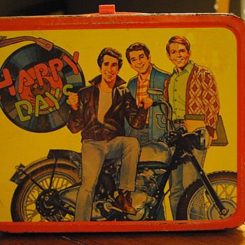 1976 Happy Days Fonz Lunch Box by Thermos - Kitchen