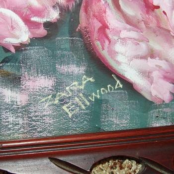 Zara Ellwood Tulips and Lilac - Art Deco