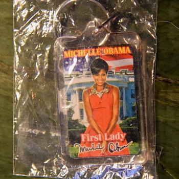 Michelle Obama Keychain - Politics