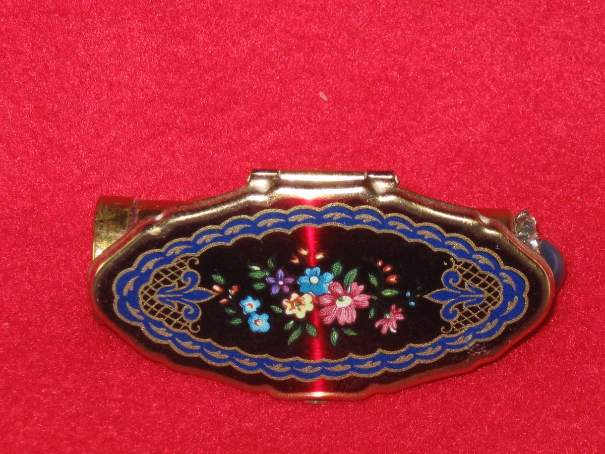 Lipstick holder with mirror vintage
