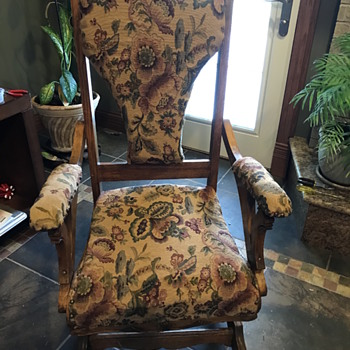 A W Schram spring rocker - Furniture