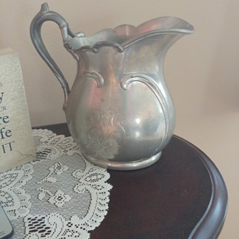 Reed & Barton Water Pitcher?