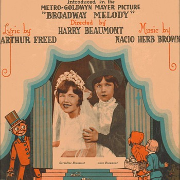 "Sheet music - ""The Wedding of the Painted Doll"" 1929 - Music Memorabilia"
