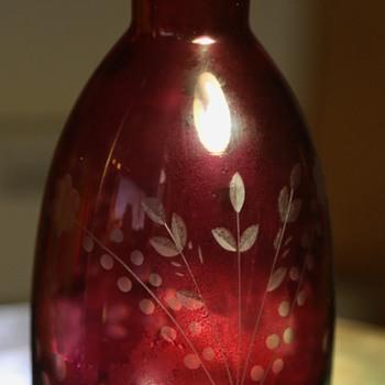Cut Glass Decanter? - Bottles