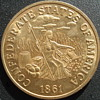 Confederate States of America $20 Gold Coin