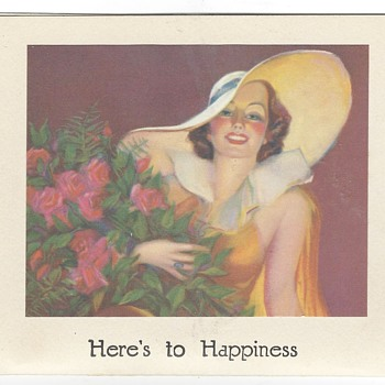 1940ies greeting card - Cards
