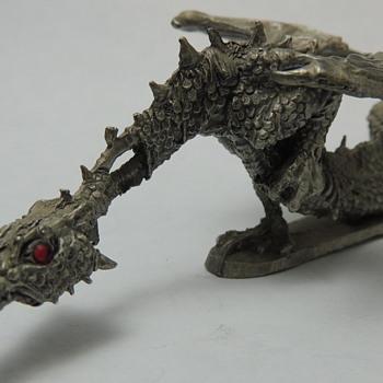 Pewter Dragon - TOM MEIER BS - PP809 c. 1838?? - Animals