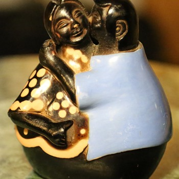 Pottery Couple by Manuel Sandoval Valdez - Peru - Figurines