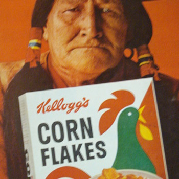 1962 THE EVENING POST CORN FLAKES AD - Paper