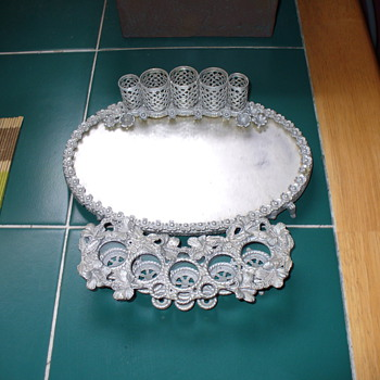 Filigree Vanity Set - Accessories