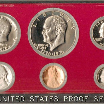 1975 S - U.S. Proof Coins Set - US Coins