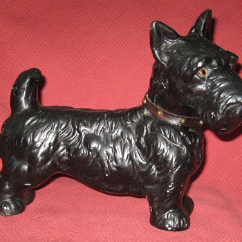 Vintage Scottish Terrier - Animals