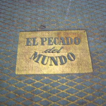 """""""El Pecado del mundo"""" by Maxence Van der Meersch (1948 - spanish first edition) - Books"""