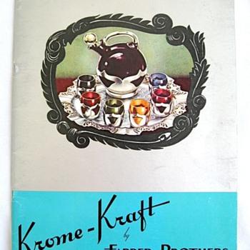 Vintage KROME-KRAFT CATALOG? - Books