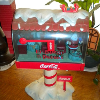 coca cola mailbox - Coca-Cola