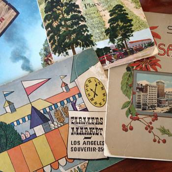 Vintage California Souvenir Books - Paper