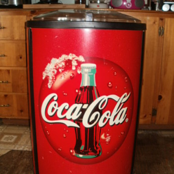 large coca-cola cooler.curious how much it is worth. - Coca-Cola