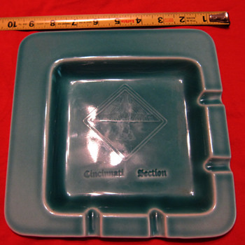 1957 Rookwood Production Ashtray #7111 - Pottery