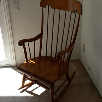 Nicholas and Stone Vintage Rocking Chair - Furniture
