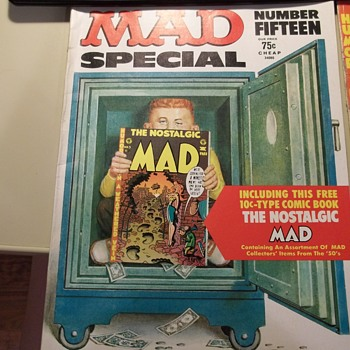 Mad Special number 15 with Nostalgic Mad number 3 - Comic Books