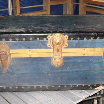 Blue Trunk - Furniture