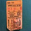 Elvis Presley ticket stub 1974