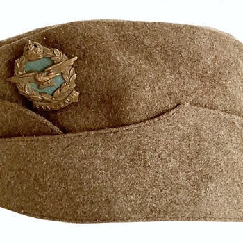 World War Two South African Air Force Field Service Hat - Military and Wartime