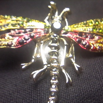 Dragonfly Pin ( For Kyra) - Costume Jewelry