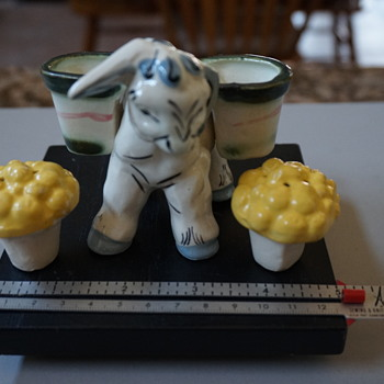 Donkey and Pack Salt & Pepper Shakers - Kitchen