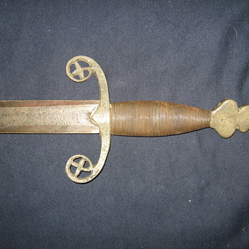 3 swords. Reproduction or authenic, continued. - Military and Wartime