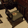 trying to identify this chair guessing - Antique Victorian Wood Throne Arm Chair