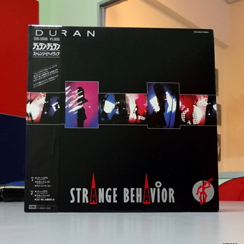 Duran Duran, Japanese pressing, Strange Behavior EP.  - Records