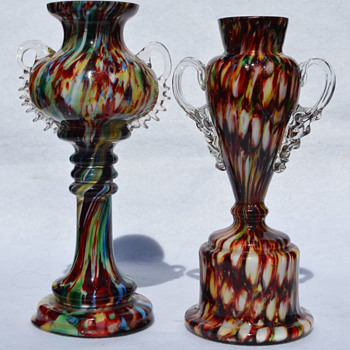 "Welz ""Trophy"" vases - Art Glass"