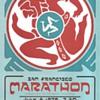 San Francisco Marathon card, David Singer, 1979