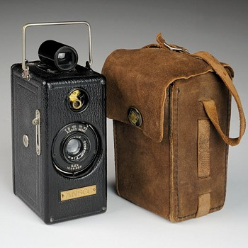 Ansco Memo ½ Frame 35mm Camera. 1927 - Cameras