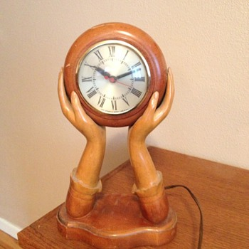 Sessions Ladies Hands Clock