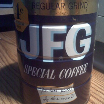 JFG Coffee Tin - Kitchen