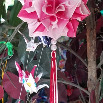 Japanese Origami Hanging Decorations - Asian