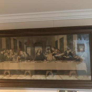 Last Supper Print 1923 - Fine Art