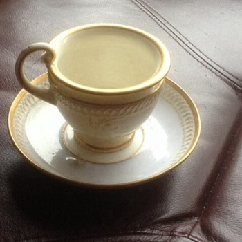 Davenport tea cup and saucer - China and Dinnerware