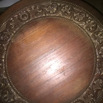 Hand carved table solid mahogany wood - Furniture