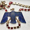 Vintage Napier Egyptian Revival Vulture Necklace