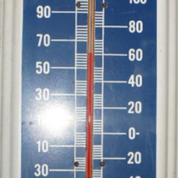 Vintage Packard Motor Car Thermometer