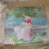 Victorian Linen Panel