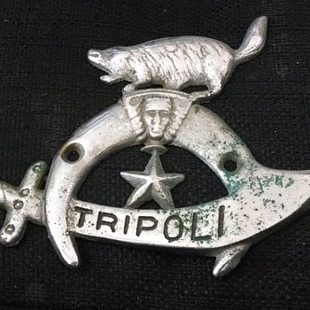 Tripoli Shriners badge/symbol? - Medals Pins and Badges