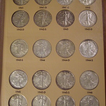 Silver U.S. Half Dollars-Barber, Walker, Franklin & Kennedy 1892 onward...