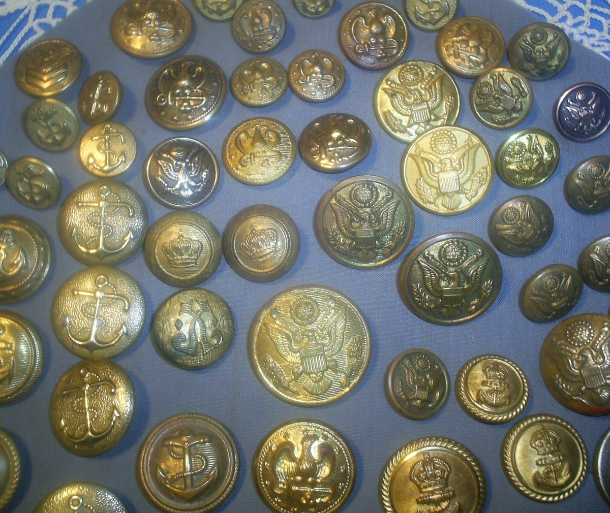 Vintage Military Buttons   Collectors Weekly