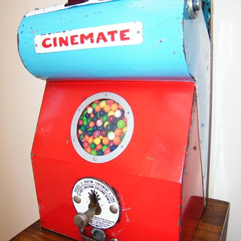 Very rare Viewmaster/bubblegum machine combination ! - Coin Operated