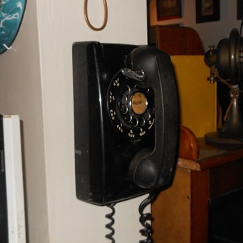 Western Electric Model 554 Wall Phone - Telephones