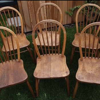 Can anyone tell me if my chairs are ercol? - Furniture